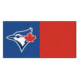"MLB - Toronto Blue Jays 18""x18"" Carpet Tiles  Team Carpet Tiles"