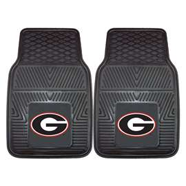 University of Georgia 2-pc Vinyl Car Mat Set Front Car Mats