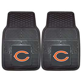 NFL - Chicago Bears 2-pc Vinyl Car Mat Set Front Car Mats