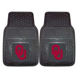 University of Oklahoma  2-pc Vinyl Car Mat Set