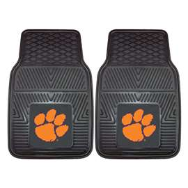 Clemson University  2-pc Vinyl Car Mat Set