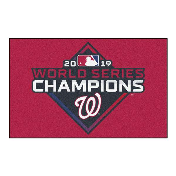 Washington Nationals  2019 World Series Champions Starter Mat Rectangular Mats