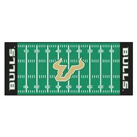 University of South Florida  Football Field Runner Mat Rug Carpet