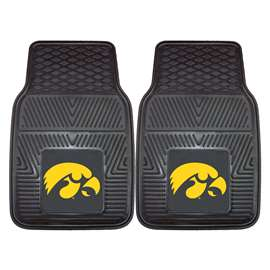 University of Iowa 2-pc Vinyl Car Mat Set Front Car Mats