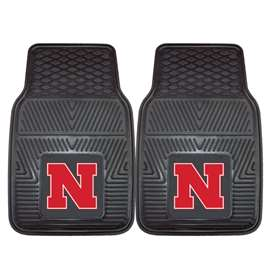 University of Nebraska  2-pc Vinyl Car Mat Set