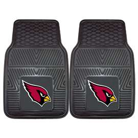 NFL - Arizona Cardinals 2-pc Vinyl Car Mat Set Front Car Mats