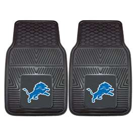NFL - Detroit Lions 2-pc Vinyl Car Mat Set Front Car Mats