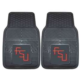 Florida State University  2-pc Vinyl Car Mat Set