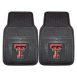 Texas Tech University 2-pc Vinyl Car Mat Set Front Car Mats