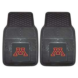 University of Minnesota 2-pc Vinyl Car Mat Set Front Car Mats