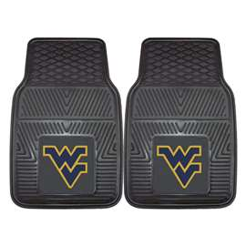 West Virginia University  2-pc Vinyl Car Mat Set
