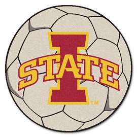Iowa State University   Soccer Ball Mat, Rug , Carpet