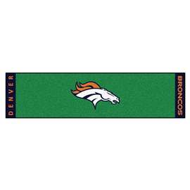 NFL - Denver Broncos Putting Green Mat Golf Accessory