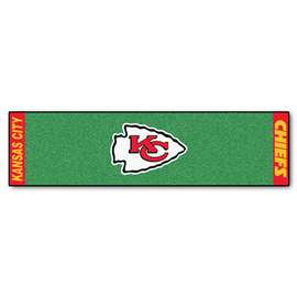 NFL - Kansas City Chiefs Putting Green Mat Golf Accessory