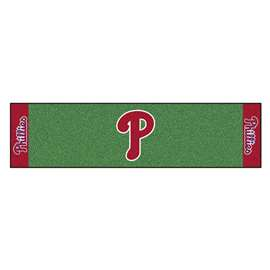 MLB - Philadelphia Phillies Putting Green Mat Golf Accessory