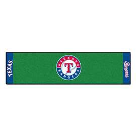 "MLB - Texas Rangers Putting Green Runner 18""x72""   Putting Green Mat"