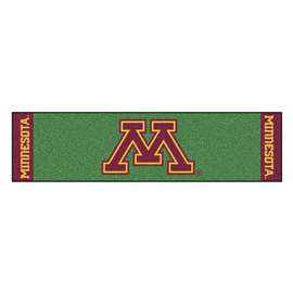 University of Minnesota Putting Green Mat Golf Accessory