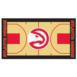 NBA - Atlanta Hawks  NBA Court Large Runner Mat, Carpet, Rug