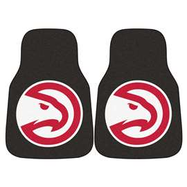 NBA - Atlanta Hawks  2-pc Carpet Car Mat Set