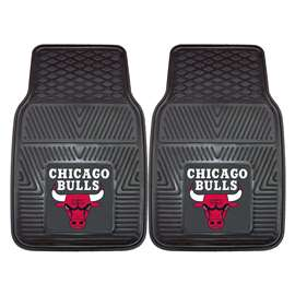 NBA - Chicago Bulls 2-pc Vinyl Car Mat Set Front Car Mats