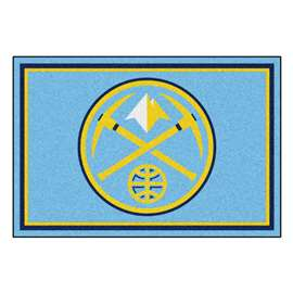 NBA - Denver Nuggets 5x8 Rug Plush Rugs
