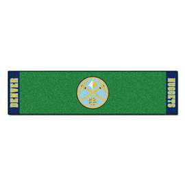 NBA - Denver Nuggets Putting Green Mat Golf Accessory