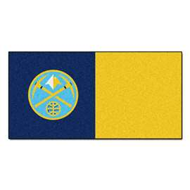 NBA - Denver Nuggets  Team Carpet Tiles Rug, Carpet, Mats