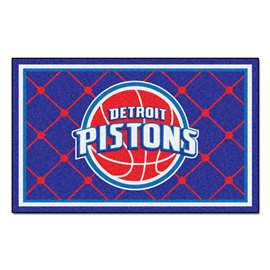 NBA - Detroit Pistons 5x8 Rug Plush Rugs