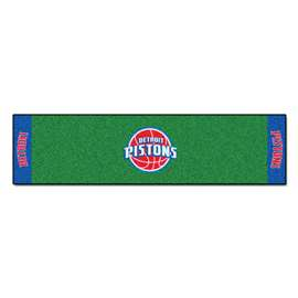 NBA - Detroit Pistons Putting Green Mat Golf Accessory