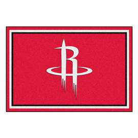 NBA - Houston Rockets  5x8 Rug Rug Carpet Mats