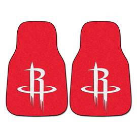 NBA - Houston Rockets  2-pc Carpet Car Mat Set