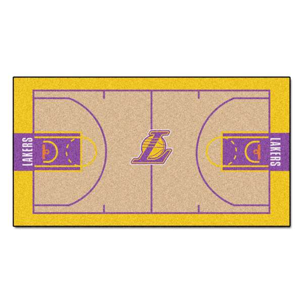 NBA - Los Angeles Lakers NBA Court Large Runner Runner Mats