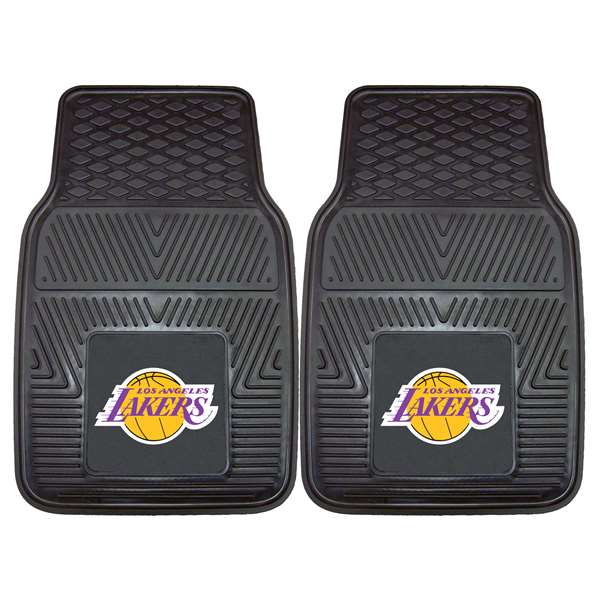 NBA - Los Angeles Lakers 2-pc Vinyl Car Mat Set Front Car Mats