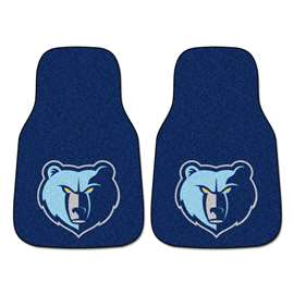 NBA - Memphis Grizzlies 2-pc Carpet Car Mat Set Front Car Mats