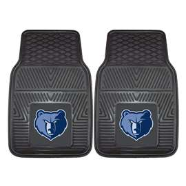NBA - Memphis Grizzlies 2-pc Vinyl Car Mat Set Front Car Mats