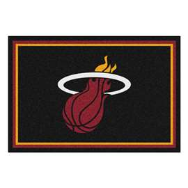 NBA - Miami Heat  5x8 Rug Rug Carpet Mats