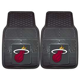 NBA - Miami Heat  2-pc Vinyl Car Mat Set