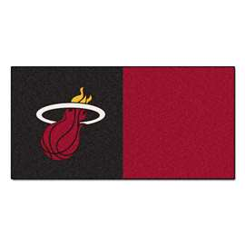 NBA - Miami Heat  Team Carpet Tiles Rug, Carpet, Mats