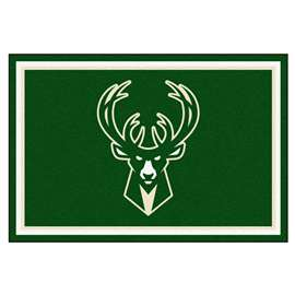 NBA - Milwaukee Bucks 5x8 Rug Plush Rugs