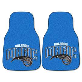 NBA - Orlando Magic 2-pc Carpet Car Mat Set Front Car Mats