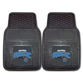 NBA - Orlando Magic 2-pc Vinyl Car Mat Set Front Car Mats