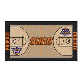 NBA - Phoenix Suns  NBA Court Large Runner Mat, Carpet, Rug