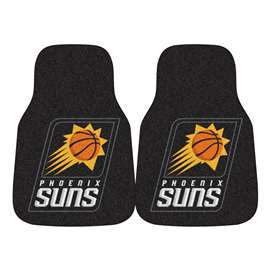 NBA - Phoenix Suns  2-pc Carpet Car Mat Set