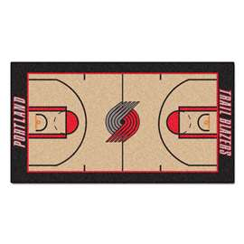 NBA - Portland Trail Blazers  NBA Court Large Runner Mat, Carpet, Rug