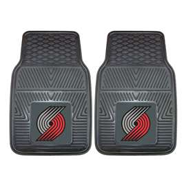 NBA - Portland Trail Blazers  2-pc Vinyl Car Mat Set