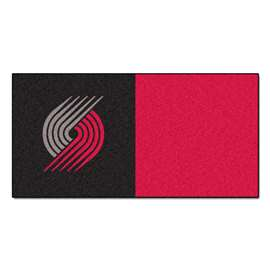 NBA - Portland Trail Blazers  Team Carpet Tiles Rug, Carpet, Mats