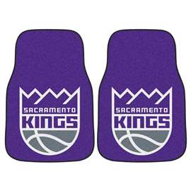 NBA - Sacramento Kings 2-pc Carpet Car Mat Set Front Car Mats