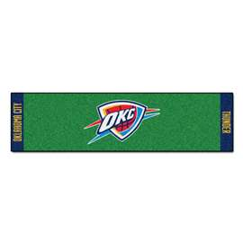 NBA - Oklahoma City Thunder Putting Green Mat Golf Accessory