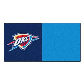 NBA - Oklahoma City Thunder  Team Carpet Tiles Rug, Carpet, Mats