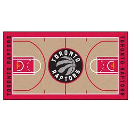 NBA - Toronto Raptors  NBA Court Large Runner Mat, Carpet, Rug